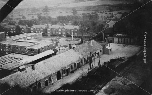 Alfreton Colliery, Meadow Lane, Alfreton, c 1950s