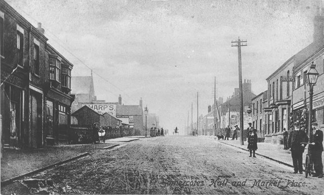 Somercotes Hill and Market Place