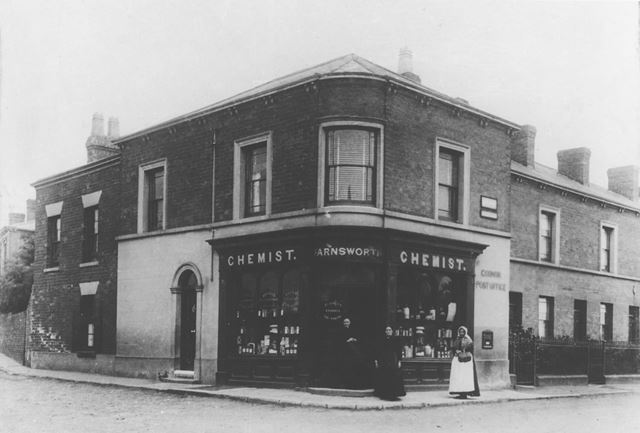 Farnsworth's chemist's shop and Post Office
