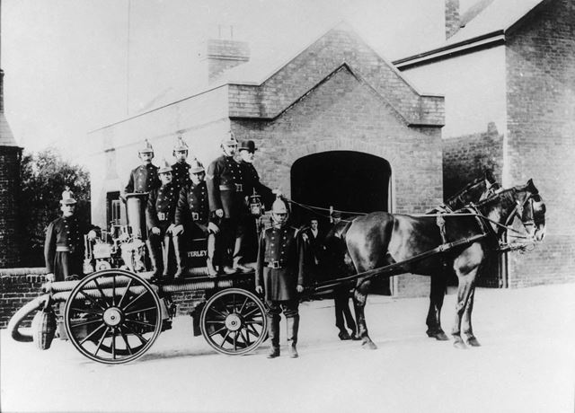 Butterley Horse Drawn Fire Engine