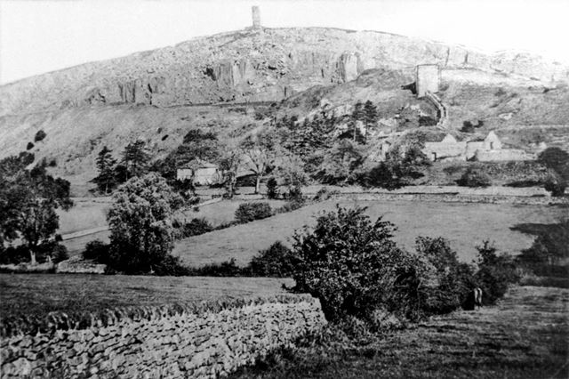 Crich stand and quarry