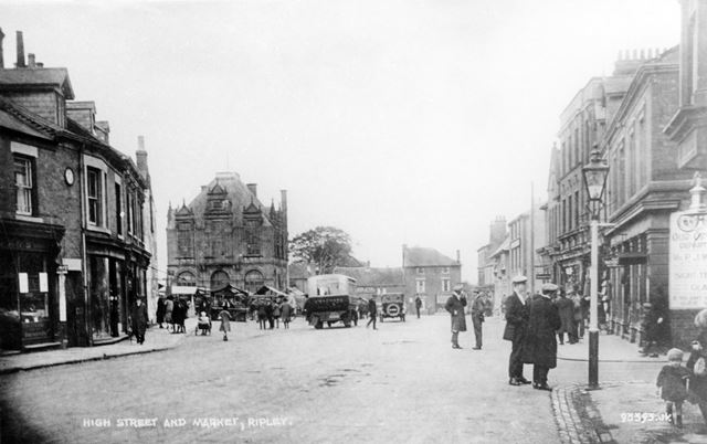 High Street and Market, Ripley