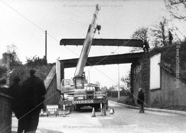 Demolition of Iron Bridge