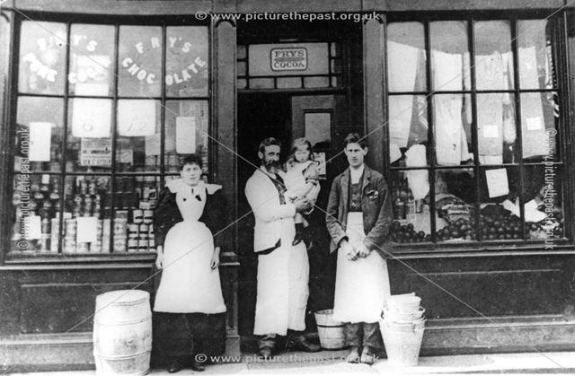 Kensit's Shop, Mill Lane, Codnor