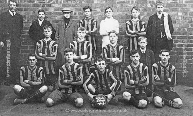 Longley St Marys Boys Football team