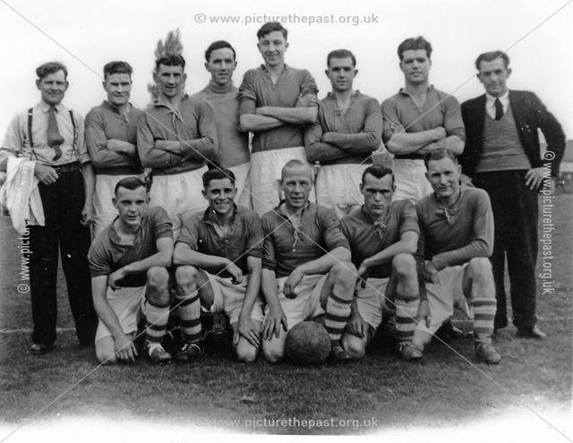 Ilkeston Rutland Football Final, c 1940s