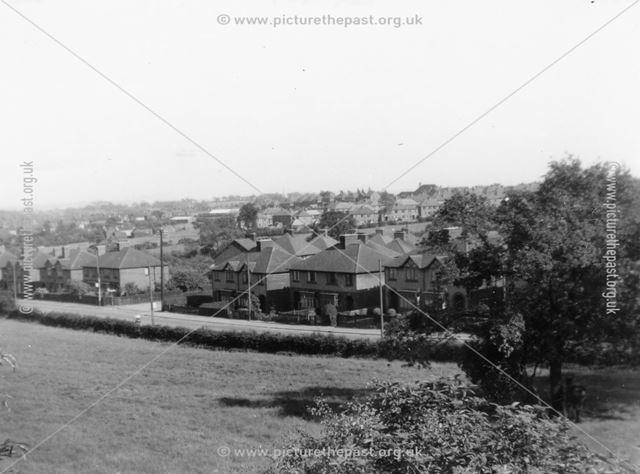 Nottingham Road, Codnor Gate, c 1965 ?
