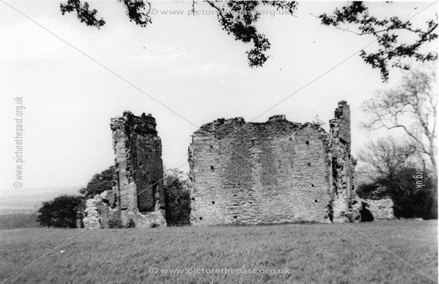 Codnor Castle Ruins