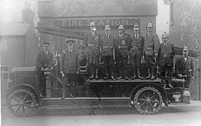 Buttlerley Fire Brigade 1921
