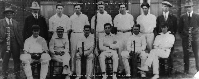 Codnor Miner's welfare cricket team 1927 or 1928