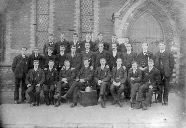 Bethel Sunday School young mens class c1905