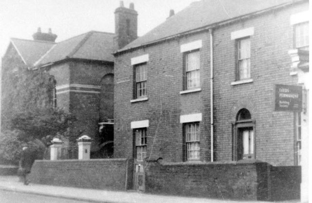 Maternity home and Baptist Chapel, Ripley