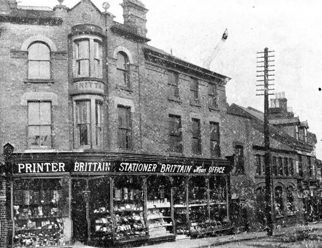 C H Brittain + Son Ltd on Church Street, Ripley 1908