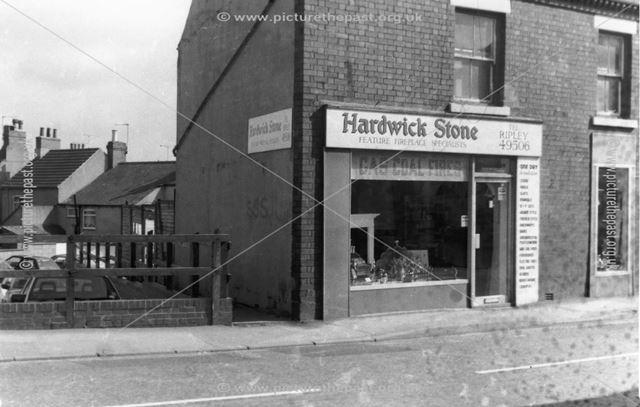 Hardwick stone fireplace shop, Ripley
