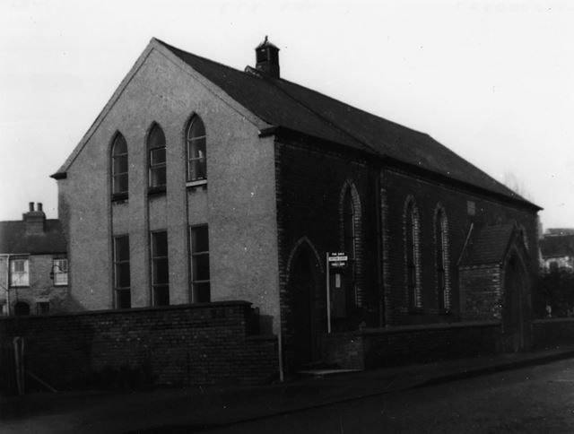 Old Chapel on Derby Road, Marehay