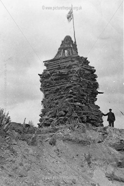 Butterley Company's Peace and Coronation Bonfire 1902
