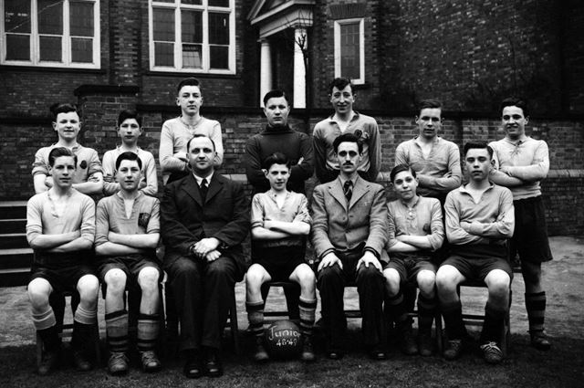 Junior football team 1948-49