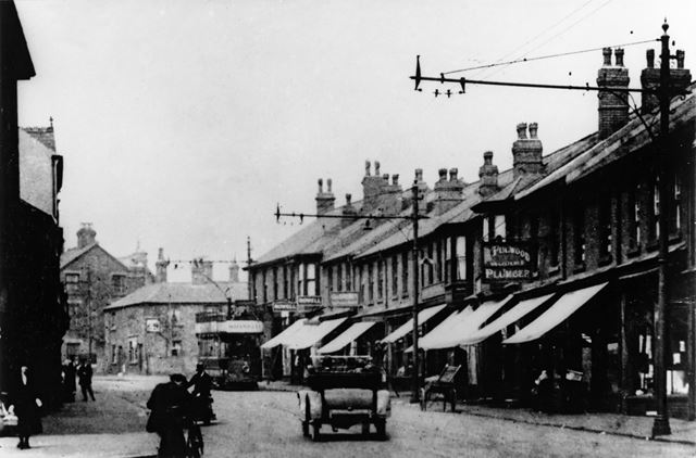 Notts and Derby Tramway at Eastwood