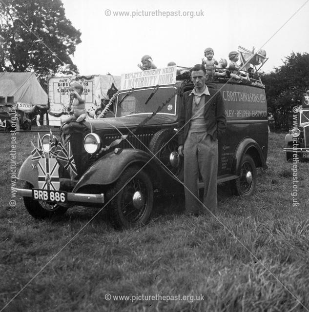 Ripley Carnival, Playing Fields, Nottingham Road, Ripley, 1936