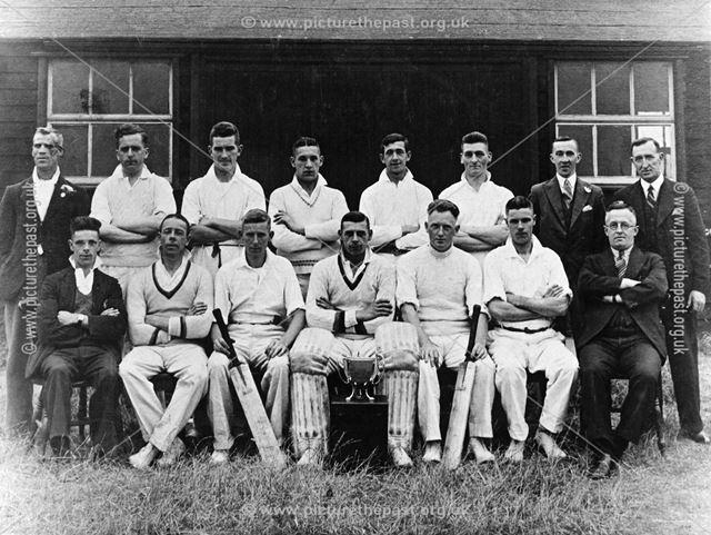 Butterley Company's, Codnor Park Works' Welfare Cricket Team, 1936