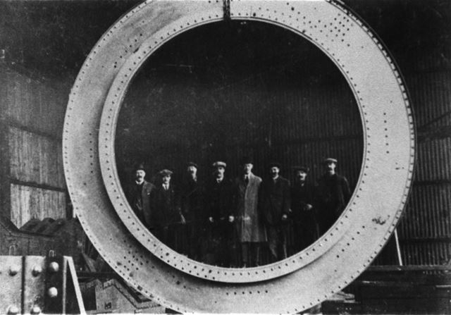 Butterley Company's Casting for a Marine Engine, 1945