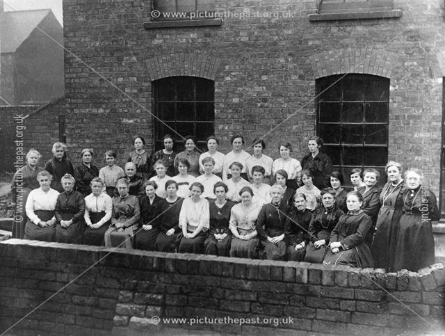 Wood Street Chapel Ladies Class, c 1900