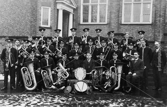 Ripley Silver Prize Band, c 1920s
