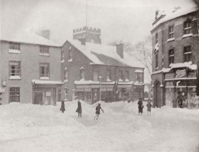 View at the top of Church Street, Ripley, c 1910-20