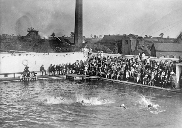 Butterley Company Sports Association Swimming Gala, 1929