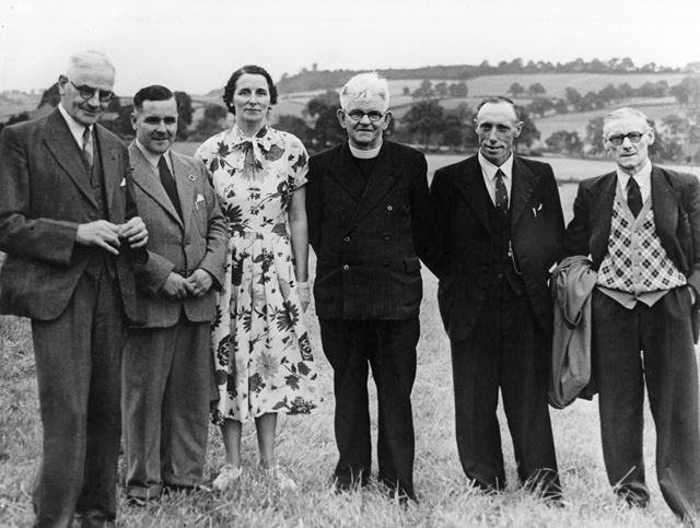 Members of Nether Heage Methodist Church, c 1960 ?