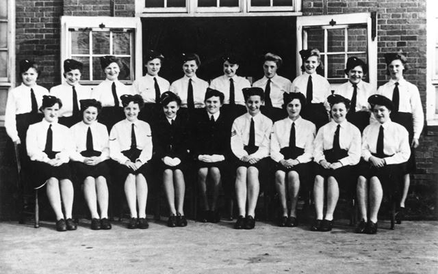 Girls Training Corps - Company 646, Infant School, Somercotes, 1945-46