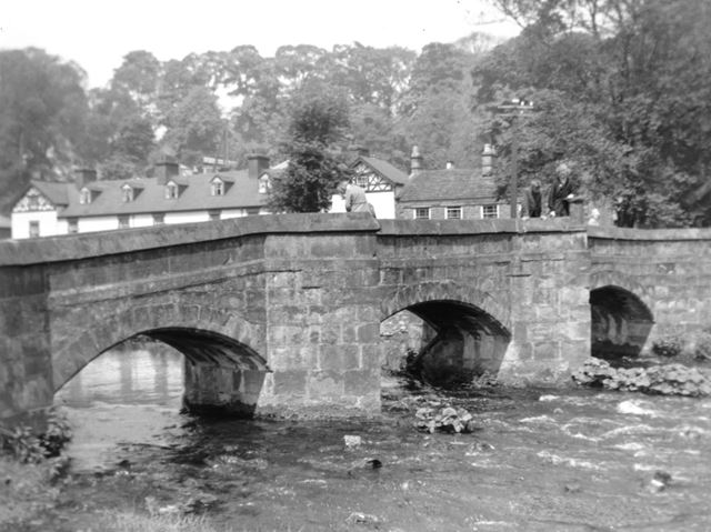 Lumford Cottages and Holme Bridge, New Lumford, Bakewell