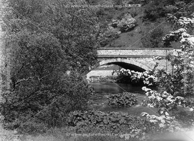 A Bridge Near the Reservoir at Ashford In The Water, 1929