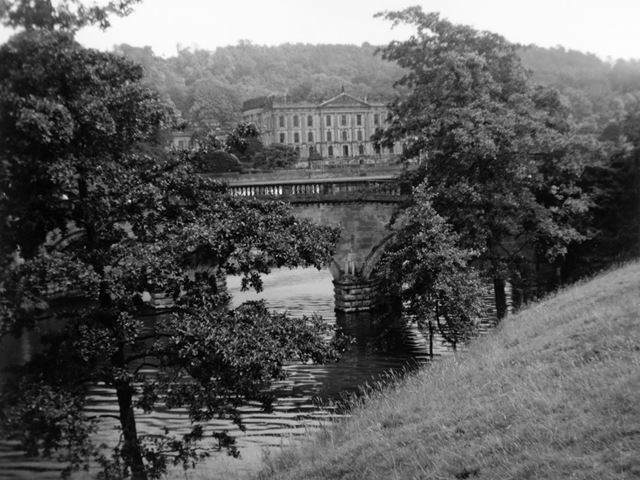 Chatsworth House and Paine's Bridge, 1966