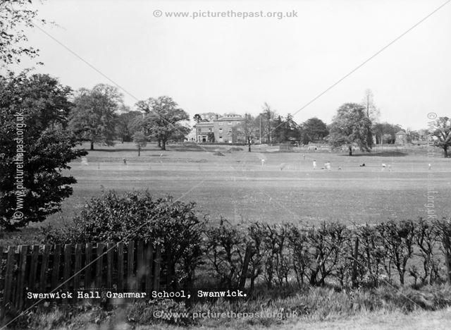 Swanwick Hall Grammar School, Swanwick, c 1950