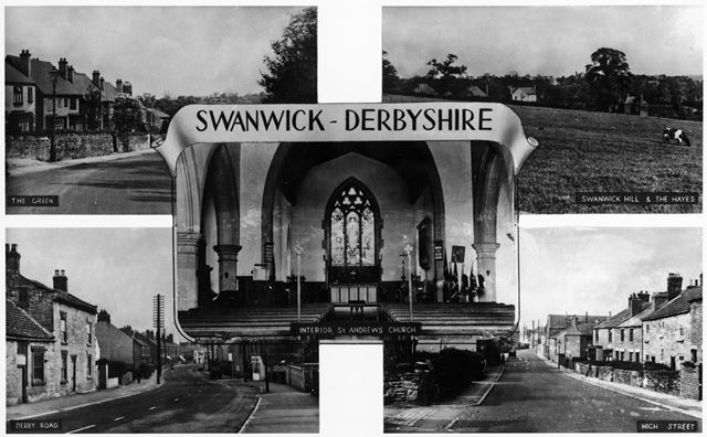 Five Views of Swanwick, c 1950