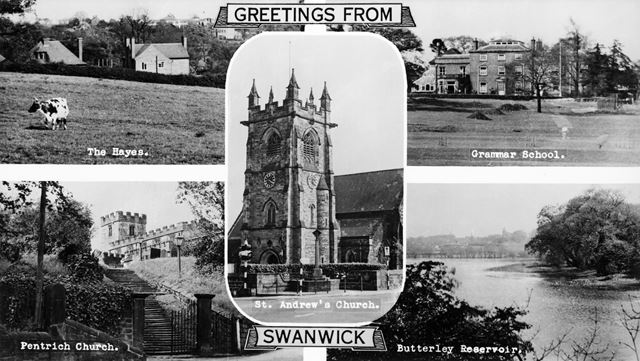 Five Views of Swanwick, Pentrich and Butterley, c 1950