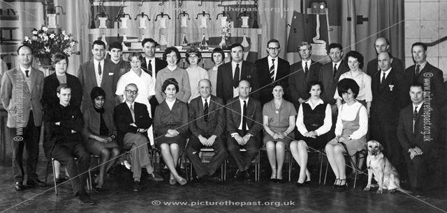 Teaching Staff at Parks School, Bargate Road, Belper, c 1970