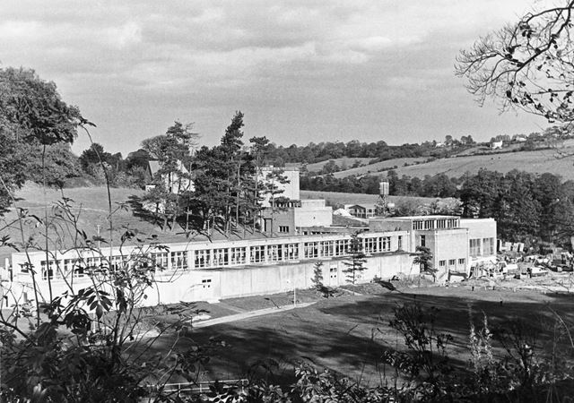 Treatment Works, Ogston Reservoir, c 1960