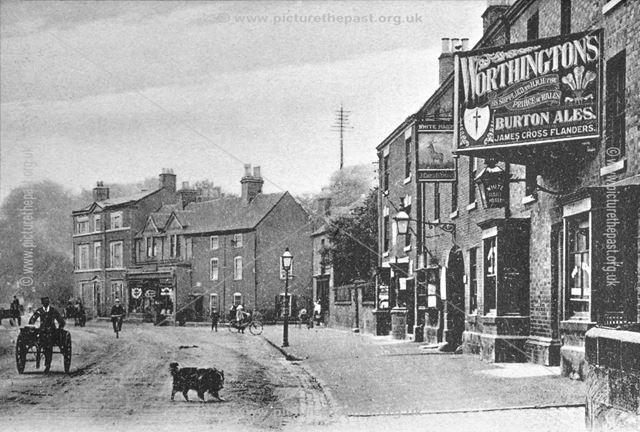 Town Street looking towards St. Ronans, Duffield