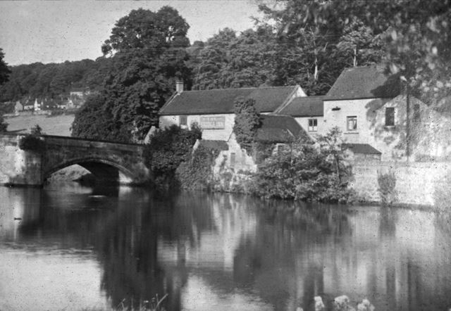 Bridge Inn before Reconstruction, Eaton Bank or Makeney Road, Duffield