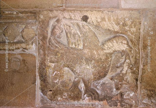 Eagle of St. John, St Alkmund's Church, Church Drive, Duffield