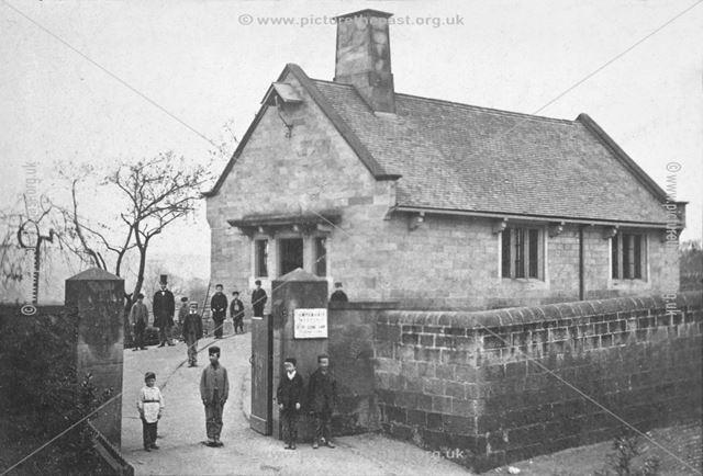 Boys' School, later Parish Rooms, Duffield, 1860