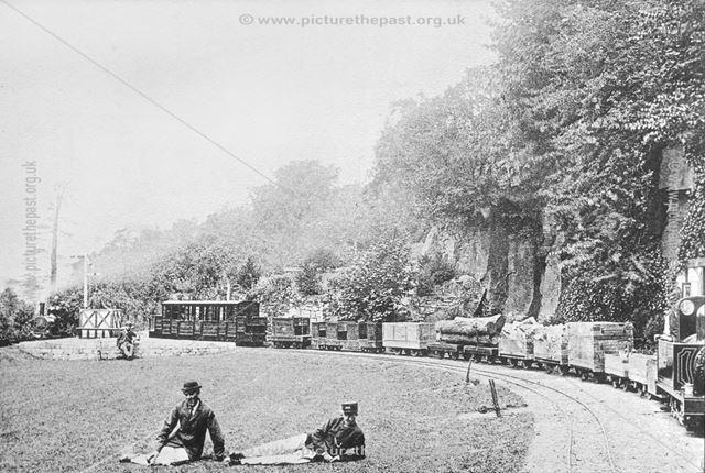 Duffield Bank Railway, Duffield