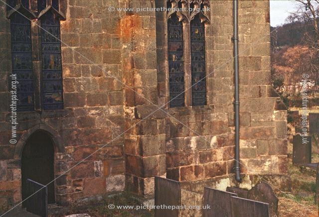 Southeast Chancel, Buttress and Door, St Alkmund's Church, Church Drive, Duffield