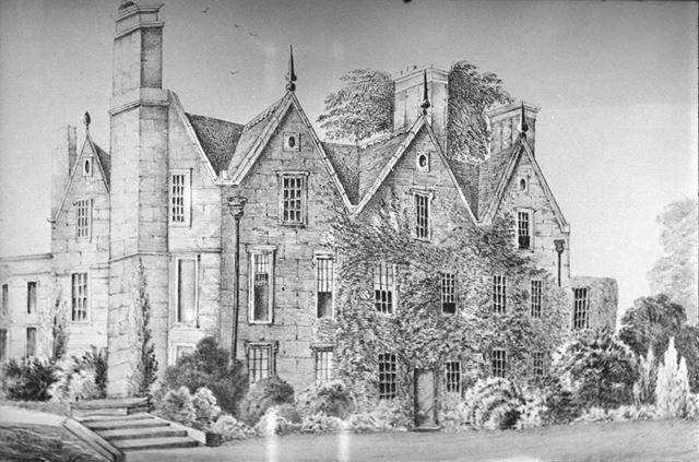 Duffield Hall, Derby Road, Duffield, c 1862