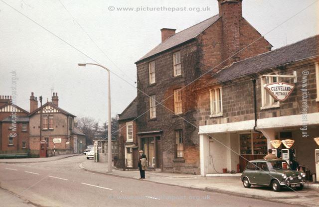 Edgecombes Garage, Town Street, Duffield, 1963