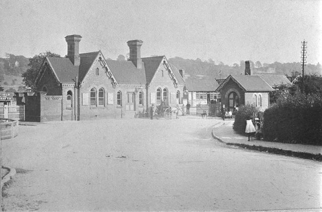 Duffield Railway Station, c 1900s