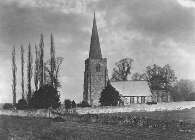 St. Alkmund's from South West, Duffield