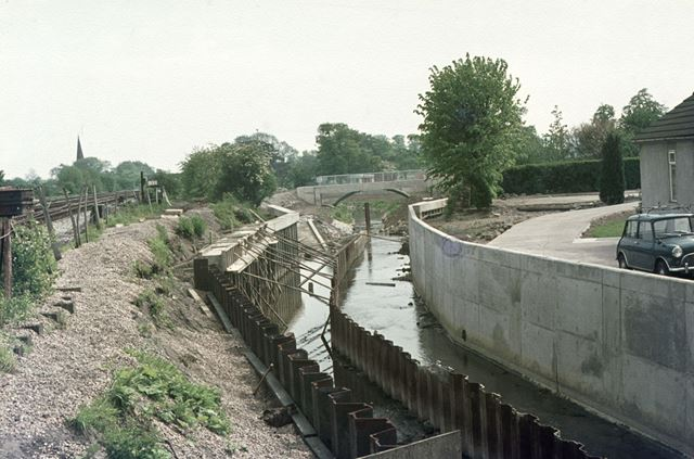 Ecclesbourne Flood Scheme, Duffield, 1974-76